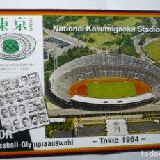 Postales: POSTAL FUTBOL DDR -TOKIO64-STADIO NATIONAL KASUMIGAOKA. Lote 73438911