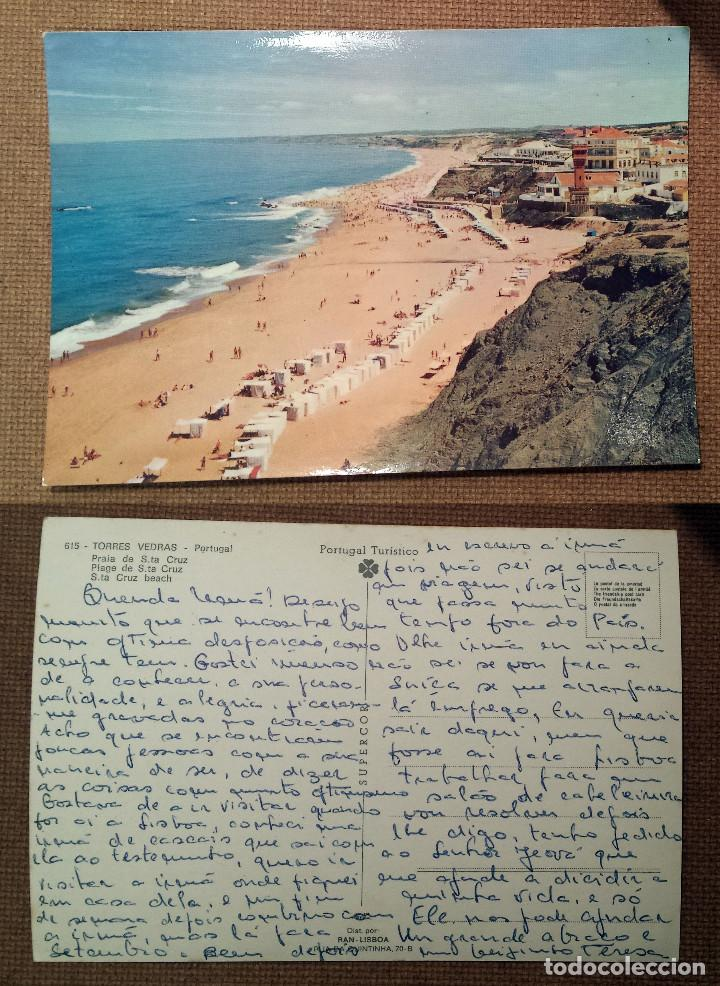 TORRES VEDRAS - PORTUGAL - PRAIA DE S.TA CRUZ - POSTCARD (Postales - Postales Extranjero - Europa)