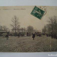Postales: PARIS XIII BARRIERE D ITALIE 1908. Lote 73654691