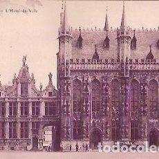 Postales: ANTIGUA POSTAL BRUGES L'HOTEL DE VILLE. Lote 73709103