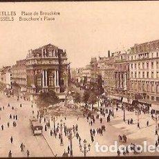 Postales: ANTIGUA POSTAL 73 BRUXELLES PLACE DE BROUCKERE. Lote 73715715