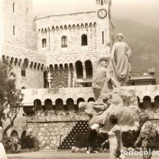 Postales: FOTOGRAFÍA MÓNACO PALACIO AÑO 1956 19,5 X 15 CM. PHOTO FOTO. Lote 73759039