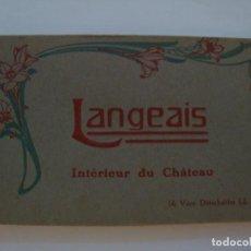 Postales: LANGEAIS INTERIEUR DU CHATEAU. Lote 73768887