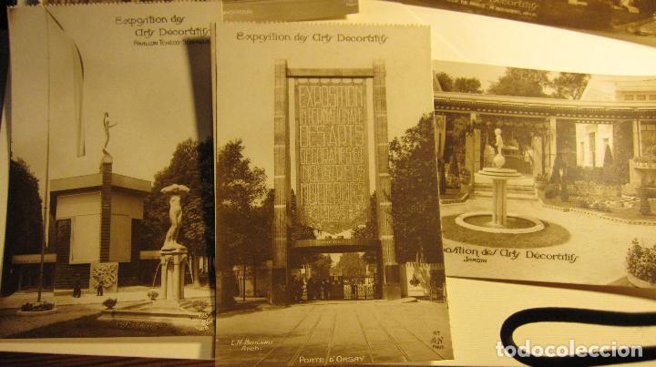 Postales: SIETE POSTALES EXPOSITION DES ARTS DECORATIFS PARIS 1925 ARQUITECTURA A.N./PARIS. SIN CIRCULAR - Foto 2 - 73850567