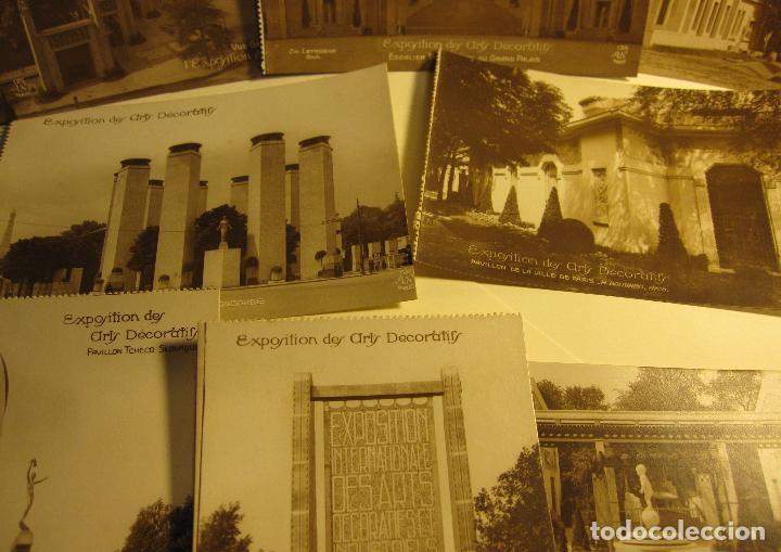 Postales: SIETE POSTALES EXPOSITION DES ARTS DECORATIFS PARIS 1925 ARQUITECTURA A.N./PARIS. SIN CIRCULAR - Foto 3 - 73850567