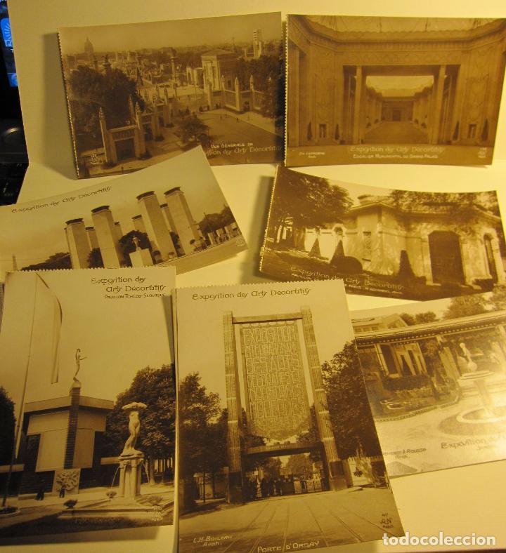 Postales: SIETE POSTALES EXPOSITION DES ARTS DECORATIFS PARIS 1925 ARQUITECTURA A.N./PARIS. SIN CIRCULAR - Foto 6 - 73850567