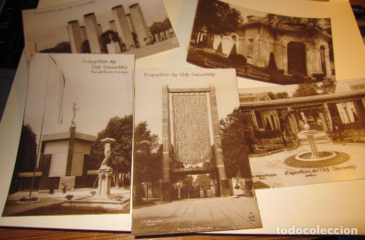 Postales: SIETE POSTALES EXPOSITION DES ARTS DECORATIFS PARIS 1925 ARQUITECTURA A.N./PARIS. SIN CIRCULAR - Foto 7 - 73850567