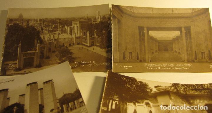 Postales: SIETE POSTALES EXPOSITION DES ARTS DECORATIFS PARIS 1925 ARQUITECTURA A.N./PARIS. SIN CIRCULAR - Foto 8 - 73850567