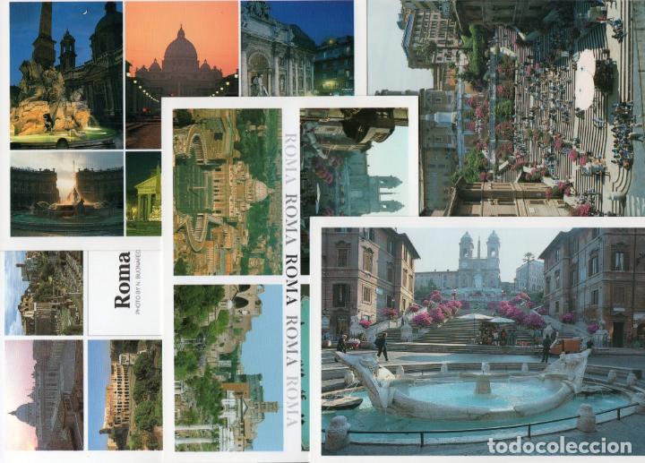 5 POSTALES DE ROMA (Postales - Postales Extranjero - Europa)