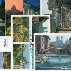 Postales: 5 POSTALES DE ROMA. Lote 74323243