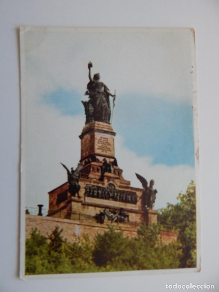 DER RHEIN: NIEDERWALDDENKMAL BEI RÜDESHEIM. THE RHINE. LE RHIN (Postales - Postales Extranjero - Europa)