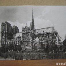 Postales: POSTAL ANTIGUA: PARIS. D'ART YVON. EN FLANANT. NOTRE-DAME. Lote 74628315