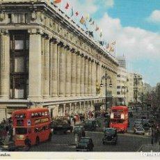 Postales: OXFORD STREET, LONDON FECHADA EN 1978 ESCRITA. Lote 74677987