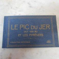 Postales: BLOCK - ÁLBUM POSTAL - 18 POSTALES - LE PIC DU JER - ET LES PYRÉNEES - PIRINEOS (ALT 1000 M). Lote 75062227