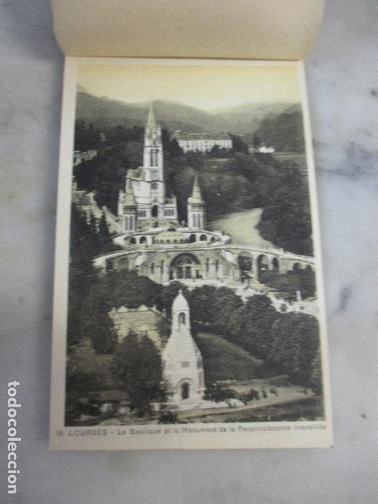 Postales: Block - Álbum Postal - 18 Postales - Le Pic Du Jer - Et les Pyrénees - Pirineos (Alt 1000 M) - Foto 4 - 75062227