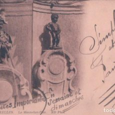 Postales - POSTAL MANNEKEN-PISS BRUXELLES 90 ND - CIRCULADA - 75071247