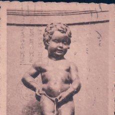 Postales - POSTAL MANNEKEN-PISS BRUXELLES PIB CIRCULADA - 75071787