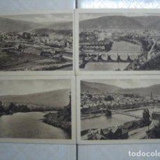 Postales: FRANCIA. REVIN. 4 POSTALES ESCRITAS POR LA MISMA PERSONA EN 1933, CON TEXTOS QUE SE CONTINÚAN. Lote 75545343