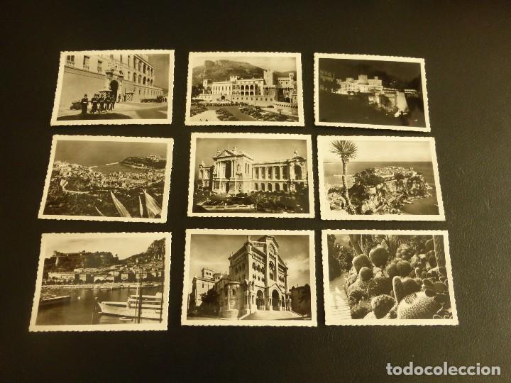 Postales: ÁLBUM CON 10 PEQUEÑAS POSTALES 9 x 6,5 CM DE MÓNACO. EDITIONS AJAX, AÑOS 50 - Foto 2 - 76655419