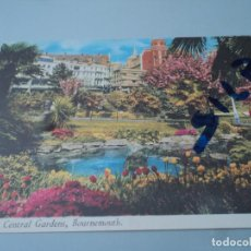 Postales: LILY POND CENTRAL GARDENS BOURNEMOUTH. Lote 77534609