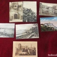 Postales: SIETE POSTALES DE P.P. DEL XX DE SINTRA , ESTORIL , PALACIO DA PENA. Lote 78593121