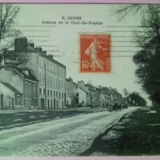 Postales: POSTAL FRANCIA S. JUVISY AVENUE DE LA COUR DE FRANCE. Lote 79173127