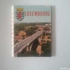 Postales: 8 POSTALES DE LUXEMBURGO EN ACORDEÓN. DE ITALCOLOR .MEDIDAS 10,5 X3CM 8CM.. Lote 79726191