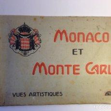 Postales: MONACO ET MONTECARLO. Lote 79781431