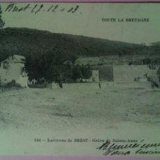 Postales: POSTAL FRANCIA 1903 BREST GREVE DE SAINTE ANNE. Lote 80036419