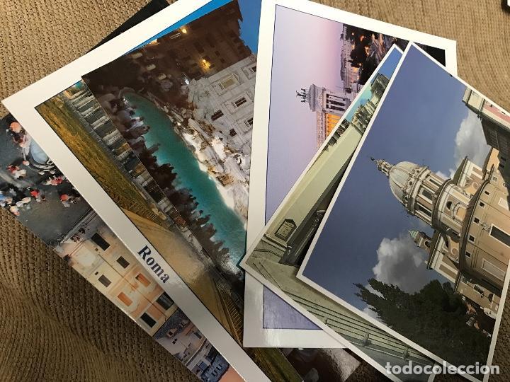 LOTE POSTALES ROMA (Postales - Postales Extranjero - Europa)