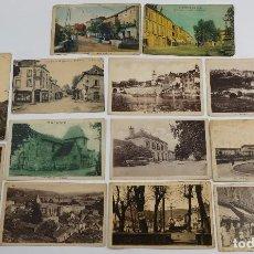 Postales: 13 POSTALES DE FOTOGRAFÍAS DE FRANCIA PRIMER TERCIO SIGLO XX. Lote 80858719