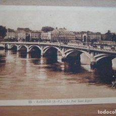 postal antigua francia: bayonne. BP. le pont saint-esprit