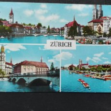 Postales: SUIZA ZÚRICH. Lote 82434598