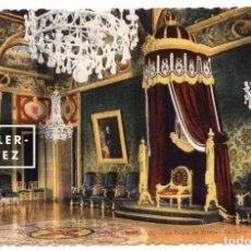 Postales: MÓNACO. SALÓN DEL TRONO DEL PALACIO, LE PALAIS DU PRINCE. LA SALLE DU TRÔNE. CA. 1940 - NO CIRCULADA. Lote 83122508