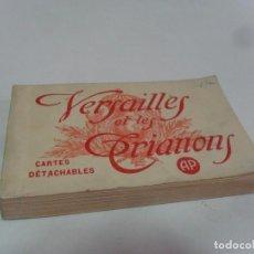 Postales: VERSAILLES VERSALLES ET LES TRIANONS 24 POSTALES. CARTES DÉTACHABLES. AP BUEN ESTADO.. Lote 83341152