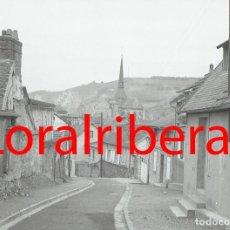 Postales: MINI NEGATIVO FRANCIA LES ANDELYS 1964 KODAK 18MM NEGATIVE PHOTO FOTO FRANCE NORMANDIE EURE. Lote 83567648