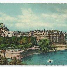 Postales: POSTAL PANORÀMICA (DOBLE) PARIS (FRANCIA) - NOTRE-DAME AVEC LA SEINE - 22,50X9 CM.. Lote 83773468