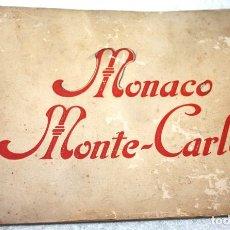 Postales: MÓNACO, MONTE CARLO 12 VISTAS, LÉVI ET NEURDEIN RÉUNIS, PARÍS. Lote 83788148