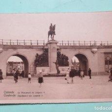 Postales: 3339 BELGIQUE BELGIE BELGIUM FLANDRE OCCIDENTALE OOSTENDE OSTENDE MONUMENT LÉOPOLD II. Lote 83863484