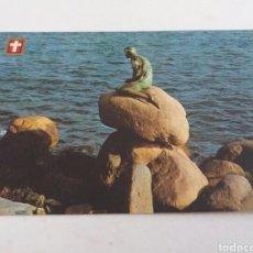 Postales: POSTAL PEQUEÑA SIRENA. COPENHAGUE. Lote 83938844