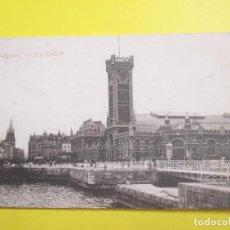 Postales: 3389 BELGIQUE BELGIE BELGIUM FLANDRE OCCIDENTALE OOSTENDE OSTENDE LA GARE 1907. Lote 83971060