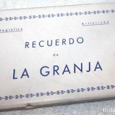 Postales: MONUMENTALES FUENTES DE LA GRANJA, FRANCIA 10 POSTALES FOTOGRAFÍA ARTÍSTICA ED. NAVARRO. Lote 83985348