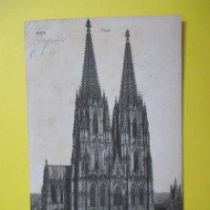 Postales: 3453 ALEMANIA DEUTSCHLAND ALLEMAGNE GERMANY RENANIA DEL NORTE WESTFALIA KOELN KÖLN AM RHEIN DOM 1910. Lote 84139552