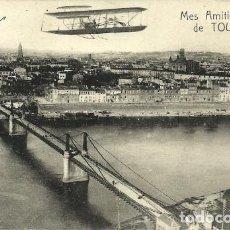 Postales: TOULOUSE - MES AMITIÉS DE TOULOUSE - FRANCIA - ESCRITA - 1921 . Lote 84184192