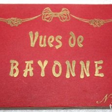 Postales: BAYONA 24 VISTAS POSTALES BAYONNE, FRANCIA. ND PHOT.. Lote 84284680