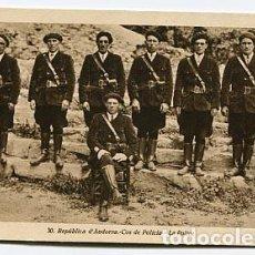 Postales: ANDORRA COS DE POLICIA. ED. JOAN SALA, FOTÓGRAFO. SIN CIRCULAR. Lote 84343284