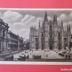 Postales: 3544 ITALIA ITALIE ITALY LOMBARDIA MILANO MILAN PIAZZA DEL DUOMO. Lote 84874608