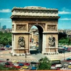 Postales: POSTAL NO CIRCULADA DEL ARCO DEL TRIUNFO DE PARIS AÑOS 60/70. Lote 85075822