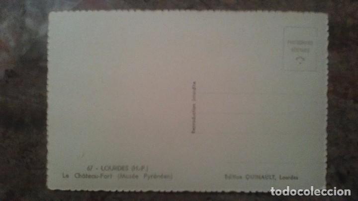 Postales: FOTO POSTAL TROQUELADA DE LOURDES - Foto 2 - 85096816