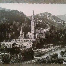 Postales: FOTO POSTAL TROQUELADA DE LOURDES. Lote 85096904